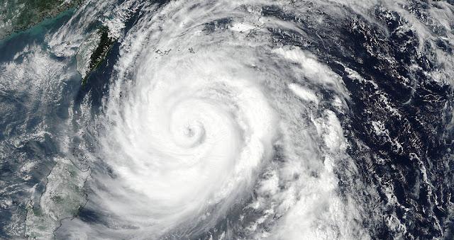 Waspada...! Seluruh Pulau Taiwan Diselimuti Topan Maggie, Semakin Sore Topan Semakin Menguat