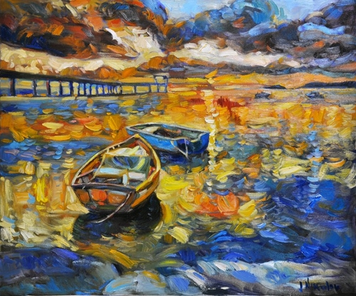 23-Ivailo Nikolovhas-Bright-Paintings-Modern-Impressionism-www-designstack-co