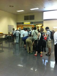 Visado en el aeropuerto de Hanoi (Vietnam)