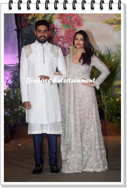 Abhishek Bachchan-with-wife-Aishwarya-Rai-Bachchana-at-Sonam-Kapoor-marriage-and-reception-party