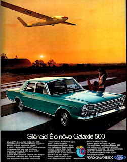 propaganda Ford Galaxie 500 - 1971. 1971; brazilian advertising cars in the 70s; os anos 70; história da década de 70; Brazil in the 70s; propaganda carros anos 70; Oswaldo Hernandez;