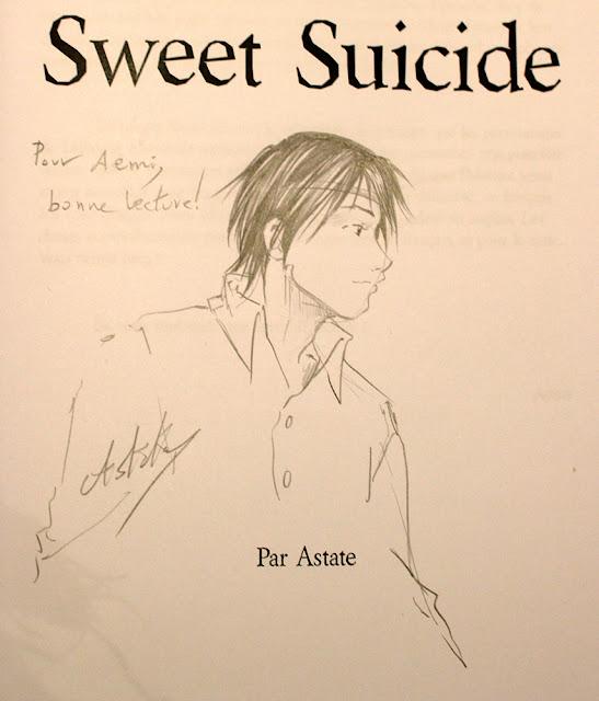 Roy Mustang, dédicace de Sweet Suicide