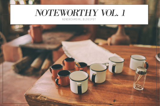 Noteworthy Vol. 1