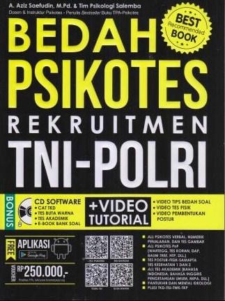 Buku Panduan Soal 99% Lolos Test TNI POLRI