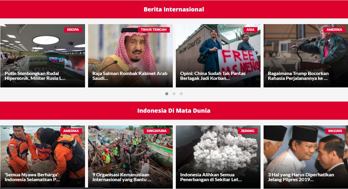 Berita Internasional Terbaru