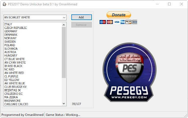 PES 2017 Demo Unlocker V0.1 Beta