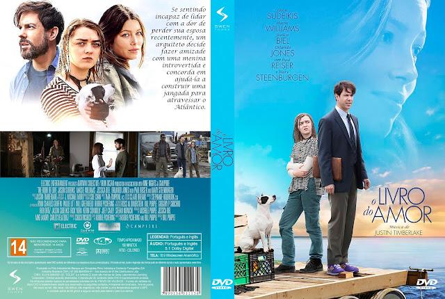 Capa DVD O Livro do Amor [Custom]