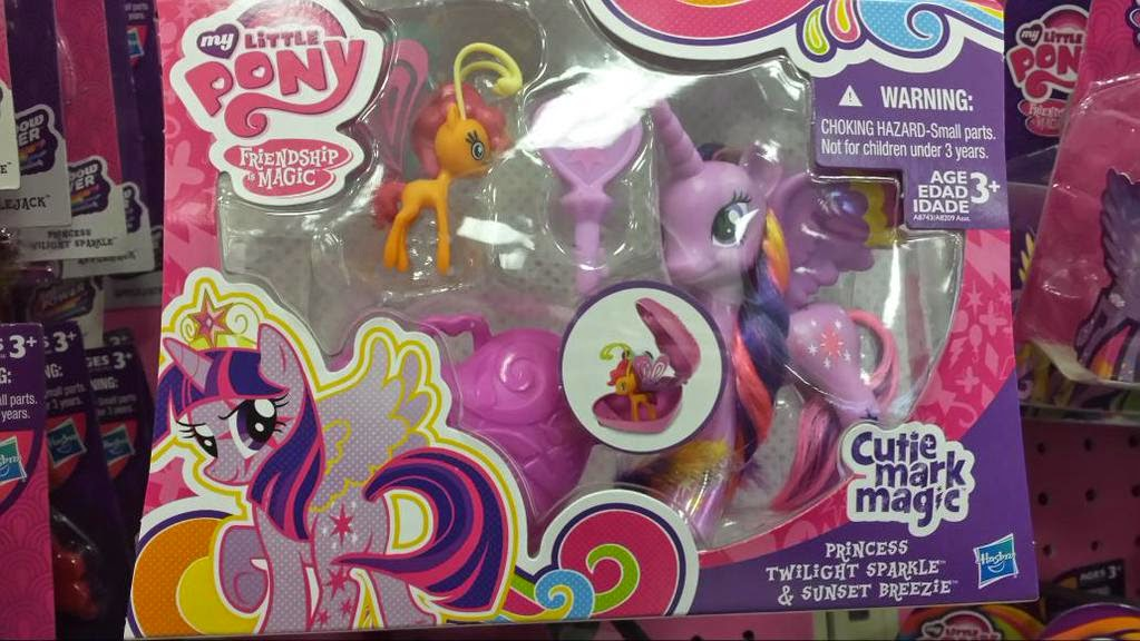 Cutie Mark Magic Twilight Sparkle and Sunset Breezie 2-pack