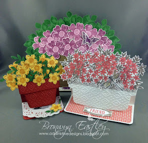 All Three Flower Pot Easel Card Tutorials