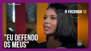A Fazenda 12 – Luiza vota em Tays – Rodrigo vota em Mateus – Jakelyne escolhe Raissa