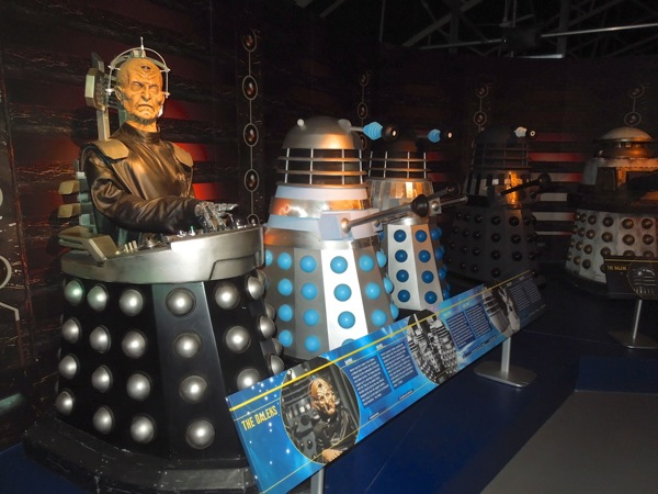 Davros and Daleks Doctor Who Experience