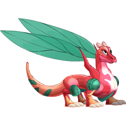 Appearance of Fairy Dragon when teenager