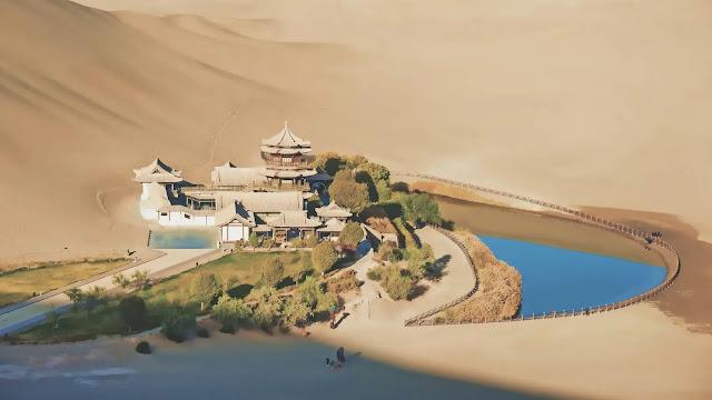 Danau Yueyaquan Tiongkok