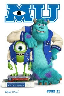 Film Monsters University 2013