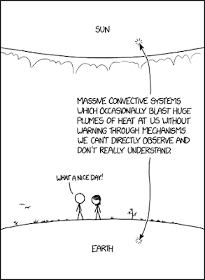 xkcd: Sun and Earth