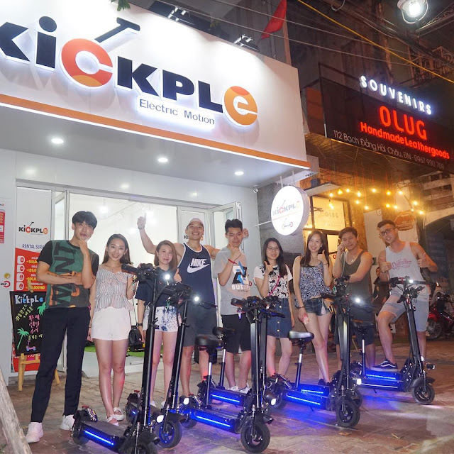 Cửa hàng cho thuê, bán xe điện KickpLe, Đà Nẵng