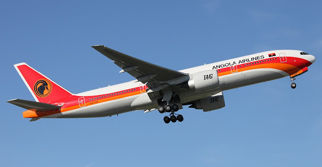 angola uçak bileti
