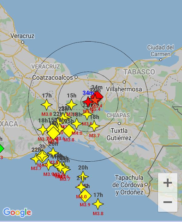 ULTIMA HORA: reportan sismo en veracruz Mexico.