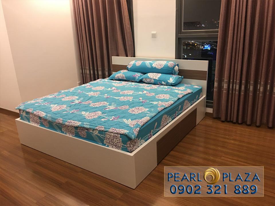 Pearl Plaza Bình Thạnh - giường ngủ phòng 1