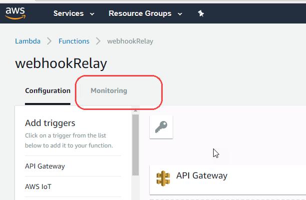 Whiteboard coder aws lambda for forwarding a webhook to slack click on monitoring malvernweather Images