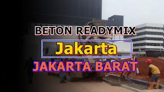 Ready Mix dan Jayamix Beton Jakarta Barat