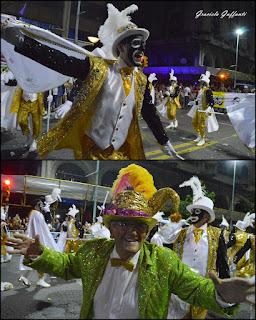 Desfile Inaugural del Carnaval. Uruguay. 2017 Parodistas Zíngaros