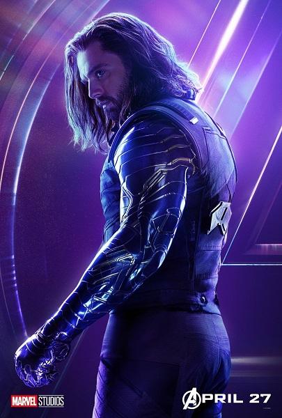 Avengers: Infinity War Winter Soldier