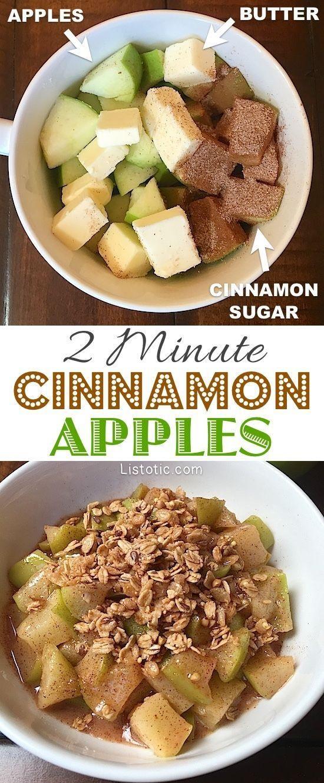 Easy Cinnamon Apples