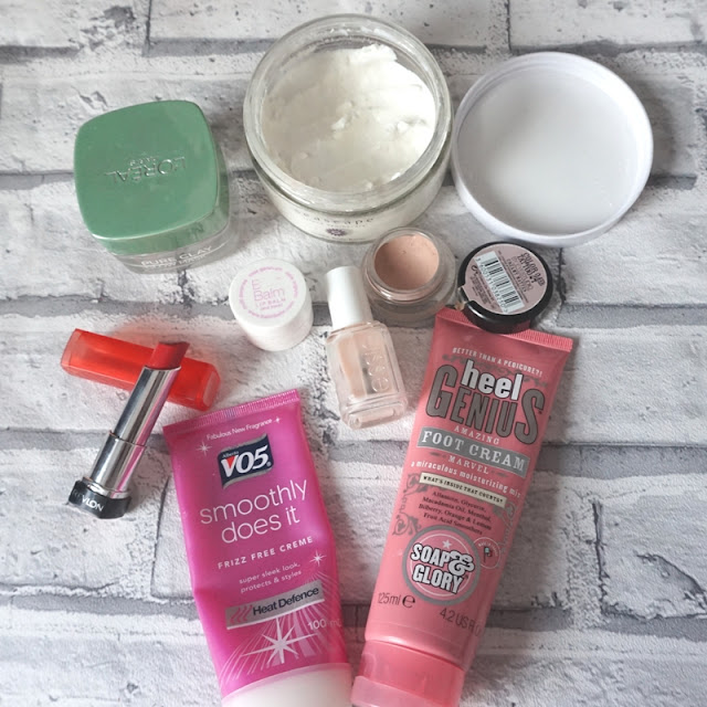 All the products i'm using in my use 7 by spring challenge