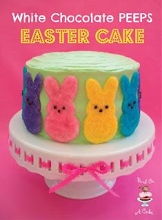 http://birdonacake.blogspot.com/2013/03/easter-cake-with-white-chocolate-peeps.html