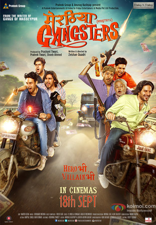 Meeruthiya Gangsters 2015 Hindi 480p HDRip 350mb