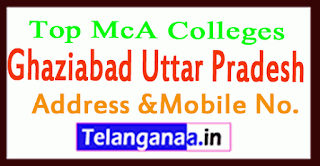Top MCA Colleges in Ghaziabad Uttar Pradesh
