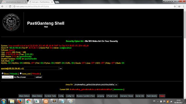 Deface Metode UpDone Check Upload Shell Vulnerability