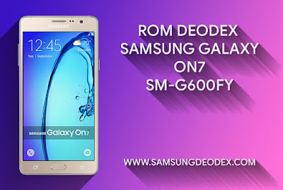 ROM DEODEX SAMSUNG G600FY