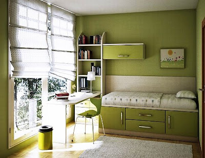 7 Teenage Girl Bedroom Ideas for Small Rooms ~ Small Bedroom on Small Teenage Room Ideas  id=67303
