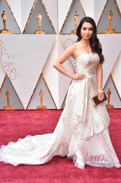 Auli'i Cravalho at 89th Annual Academy Awards