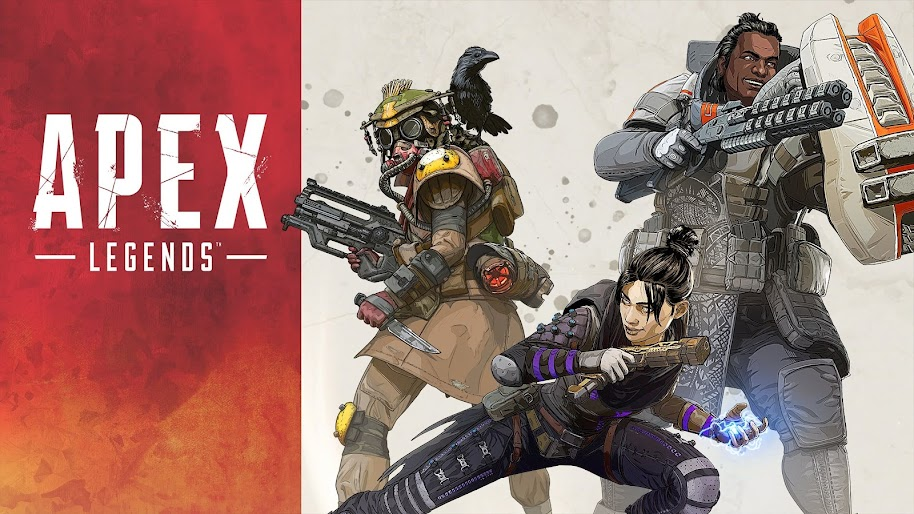 Apex Legends Characters Bloodhound Wraith Gibraltar 4k 3840x2160