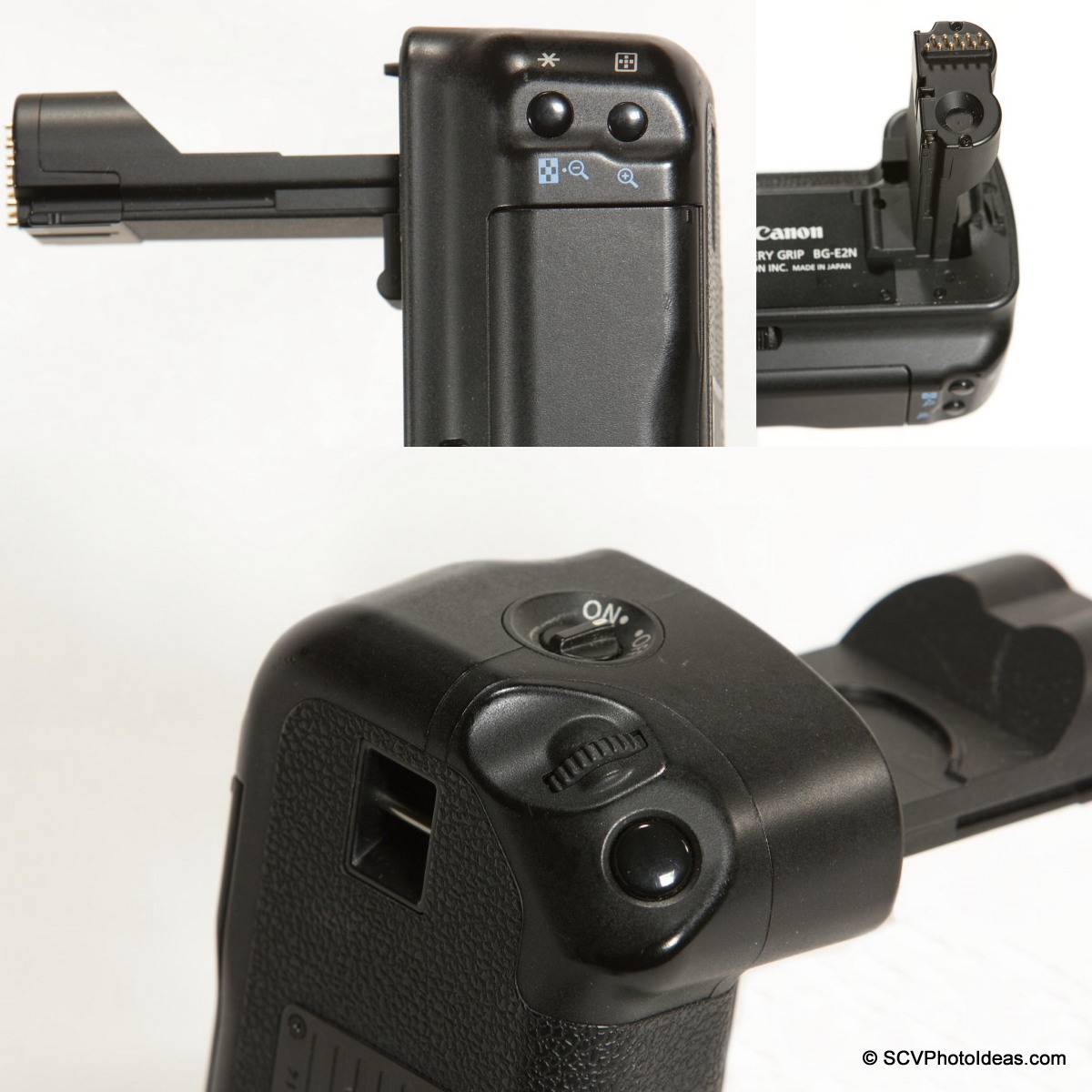 Canon BG-E2N Battery Grip extra controls