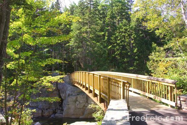 Image: Rocky Gorge, Swift River, New Hampshire, USA(c) FreeFoto.com