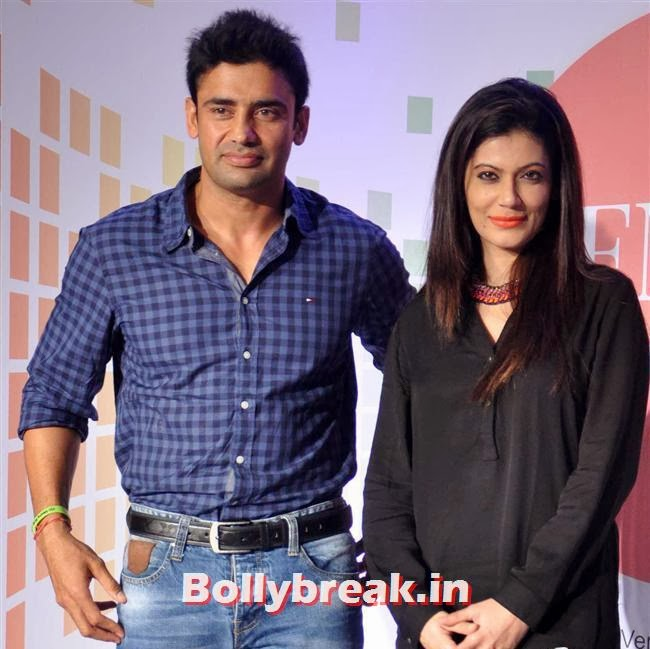 Sangram Singh and Payal Rohtagi, Payal Rohatgi at Femina Festive Showcase 2014