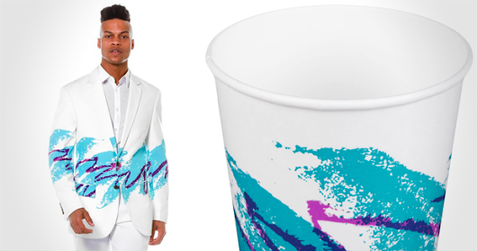 Retro Jazz Cup Blazer
