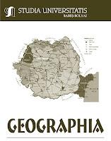 coperta revista Studia Universitatis Babeş-Bolyai Geographia