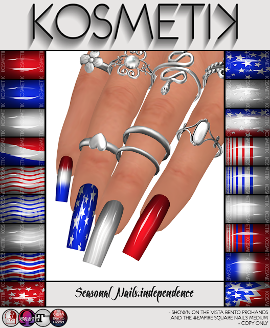 .kosmetik NEW FREE Seasonal Nails.independence