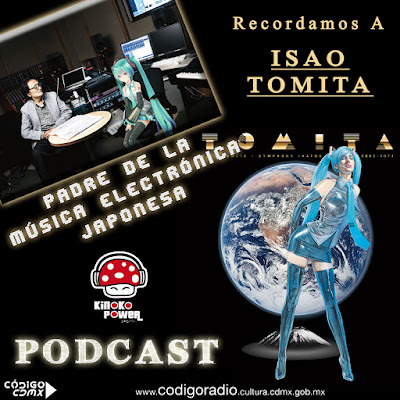 Isao Tomita con Hatsune Miku Podcast