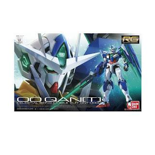 Bandai 06312 0474813 Gunpla Gundam RG 21 1-144 OO QAN T Model Kit