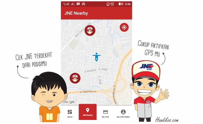 Review My JNE dan Pengalaman Aplikasi My JNE