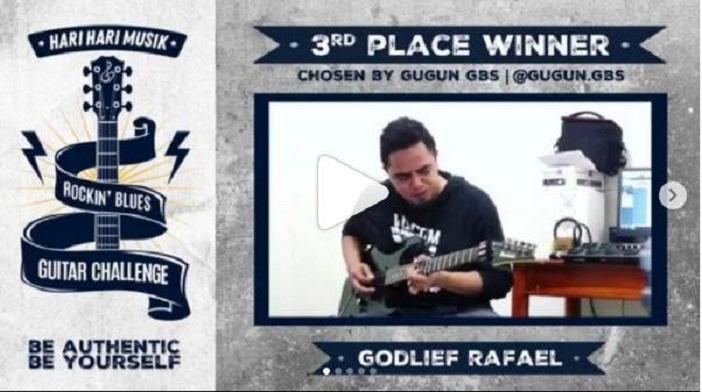 Inilah Daftar Pemenang HHM Rockin' Blues Guitar Challenge