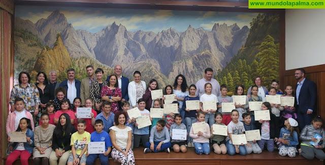 El CEIP José Luis Albendea gana la cuarta edición del concurso 'La Palma Recicla' que promueve el Cabildo