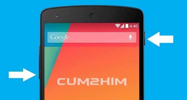 Cara Mengambil Screenshot di Smartphone LG Google Nexus 5