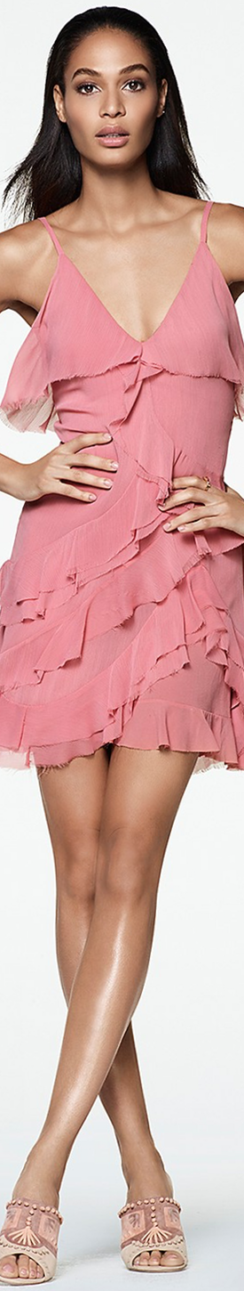 Alice + Olivia Lavinia Ruffle Dress